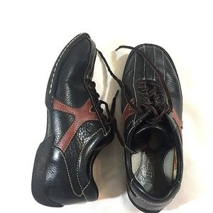 Born Leather Oxford Sneakers Size 8.5 M/W